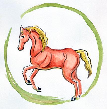 horse-circle