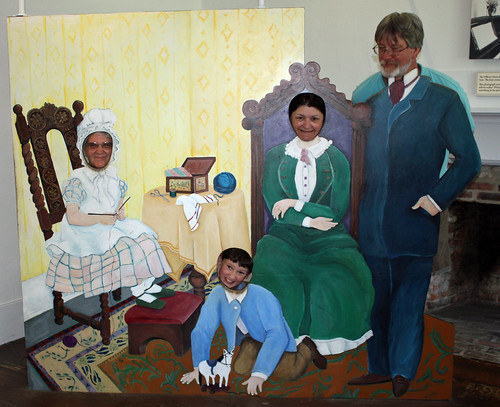 Funny Smith family at Fort Mackinac
