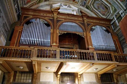 Organo Tamburini - Ara Coeli - Roma