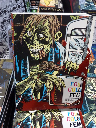 Comic-Con Debut: Four Color Fear: Forgotten Horror Comics of the 1950s