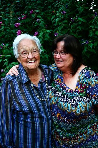 Mom and Granny