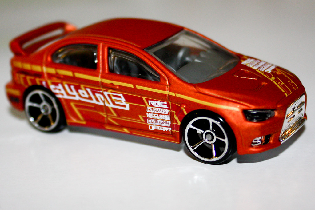2010 Hot Wheels 2008 Lancer Evolution