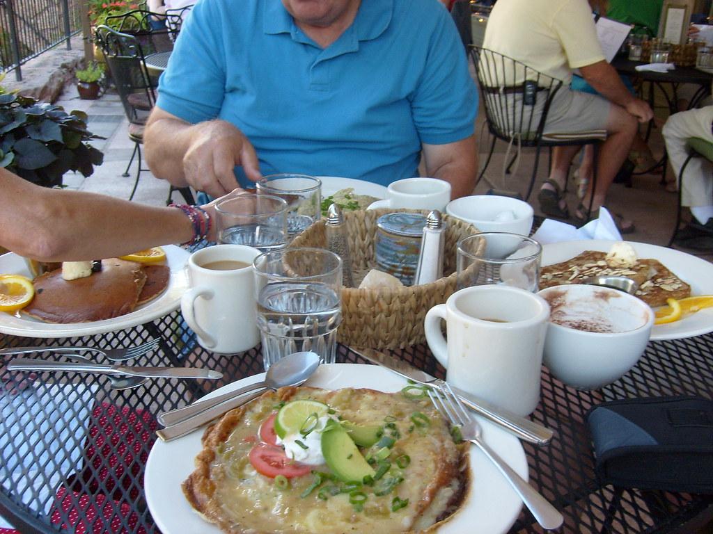 Saturday Morning Breakfast at Adams Mountain Cafe