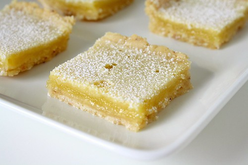 SMS: Toasted Almond Lemon Bars