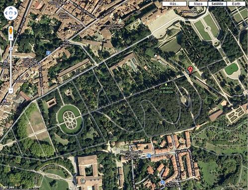Giardini dei Boboli - aereo
