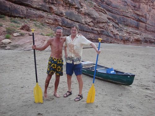 The intrepid canoeists