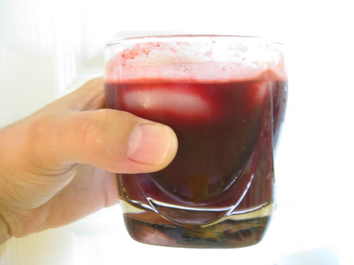 Beet and Apple Juice
