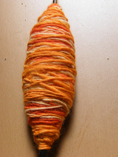 Orange Single-Ply Close Up