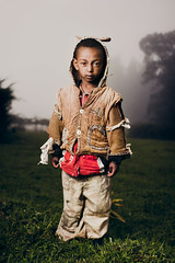 Where The Wild Things Are (Jeremy Snell) Tags: africa boy wild portrait cute face outfit mt child african 28mm ears things mount where ethiopia 18 addis ababa entoto