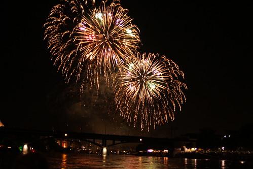 1.August Feuerwerk Basel