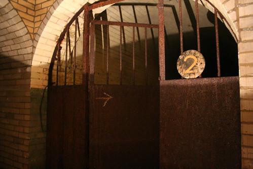 Rusting gates