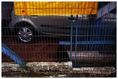 (Robvini) Tags: leica 50mm portão portoalegre grade gato carro fujifilm estacionamento summar leitz