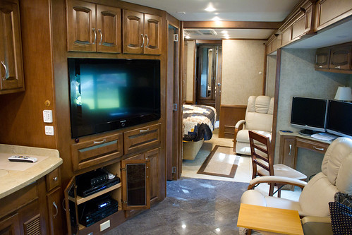 mobile homes inside. Inside a mobile home