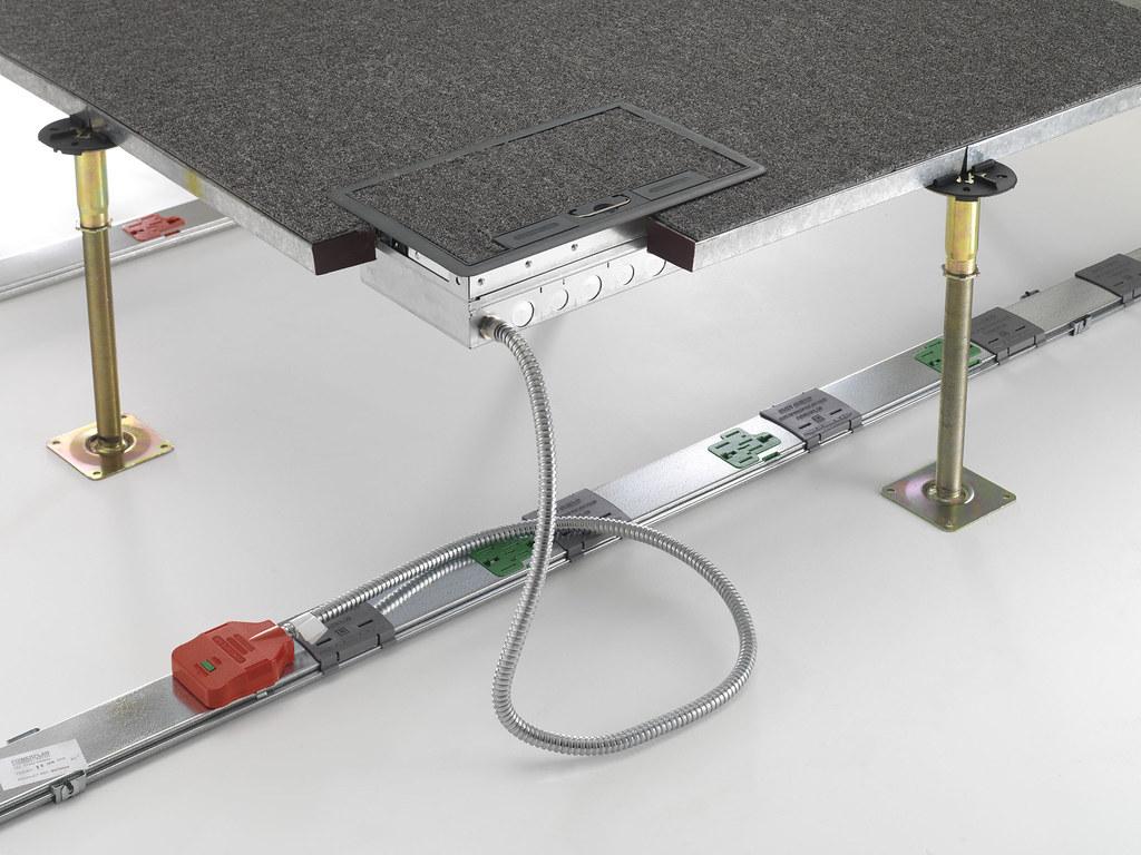 20 series 'push fit' floor box  Floor Box Situ 0012