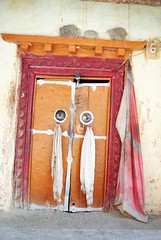 holy doors (parth joshi) Tags: tabo ki himachalpradesh kinnaur kaza chandratal mulling batal kibber kimonastery tabomonastery recongpeo chattru trekkinginhimachal spititvalley kunzumpas bhabhapass