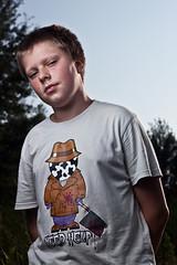 Przemek (Bjrn Utecht) Tags: boy portrait 50mm strobist