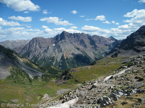 Buckskin Pass, Maroon Bells Wilderness, White River National Forest, Colorado