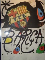 Quadre del Bara d'en Mir (Oriol.C) Tags: barcelona autobus campnou bara escudo escut gespa regar tribuna premsa llotja comentaristas banquillos banquetes comentaristes graderies