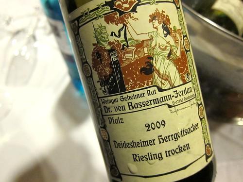 2009 Bassermann Jordan Deidesheimer Herrgottsacker Riesling