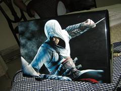 new skin, assassin creed back (Ahsun Chohan) Tags: laptop dell assassin creed xps 1645