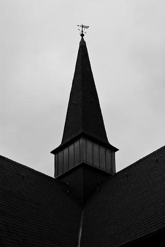 Friedhofsspaziergang - Kirchturm