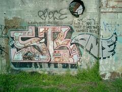 SB ONE (Bankruptcy Blue) Tags: atlanta graffiti network 1994 sb fs dtk sbone