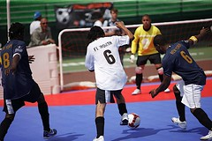 some of the action (courtesy of Street Soccer USA)