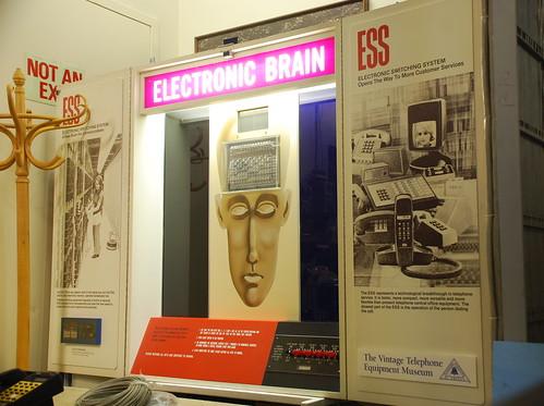 ESS informational display, Museum of Communcations, Seattle, WA