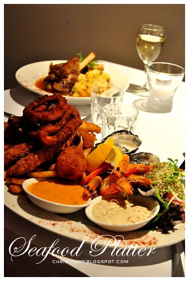 Intersection Restaurant @ James Street Motor Inn Motel: Ono Seafood Platter