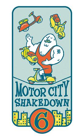 Motor City Shakedown 6 logo
