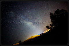 Paint the Sky with Stars (Cygnus~X1 - Visions by Sorenson) Tags: longexposure summer west nature skyline night canon stars landscape outdoors eos july idaho explore galaxy astrophotography astronomy nightsky ef2470mmf28lusm 2010 pocatello milkyway ngc6523 lagoonnebula Astrometrydotnet:status=solved 5dmkii craigsorenson Astrometrydotnet:version=14400 Astrometrydotnet:id=alpha20100879192699 20100805094823mdt