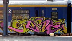 P1010396 (Akbar Sim) Tags: streetart holland train graffiti nederland groningen trein akbarsimonse akbarsim