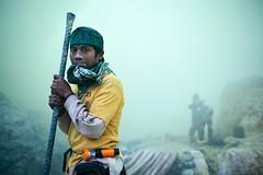 S.U.L.F.U.R (East Java/Indonesia) (yanseiler) Tags: travel work canon volcano mine working worker sulfur miner burden mineur volcan ijen kawah soufre labeur