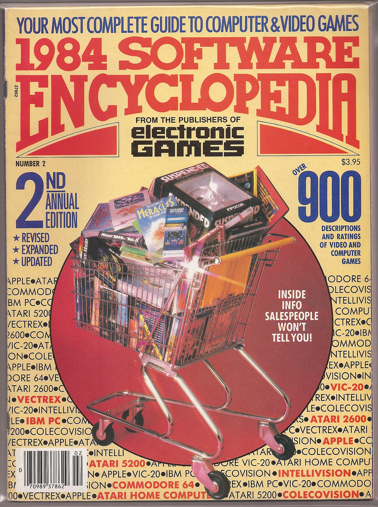 Electronic Games Magazine 1984 Software Encyclopedia