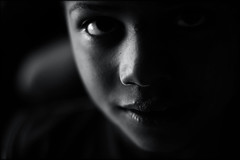 Nowhere to hide... (carf) Tags: children child kid kids boys youth streets communitychildren communitykids beijaflor carf hummingbird community esperana hope brasil brazil social underprivileged education educational development prevention recuperation altruism eyes black bw blackwhite forsakenpeople dark darkness felipe