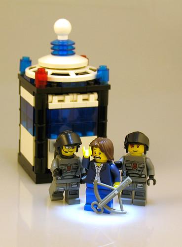 Space Police 3 Tardis