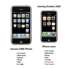 Post image for Is an iPhone Nano Good Strategy for Apple? – @tomiahonen believes so.