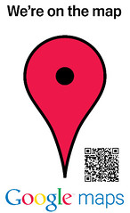 Penrose Library Google Places QR code