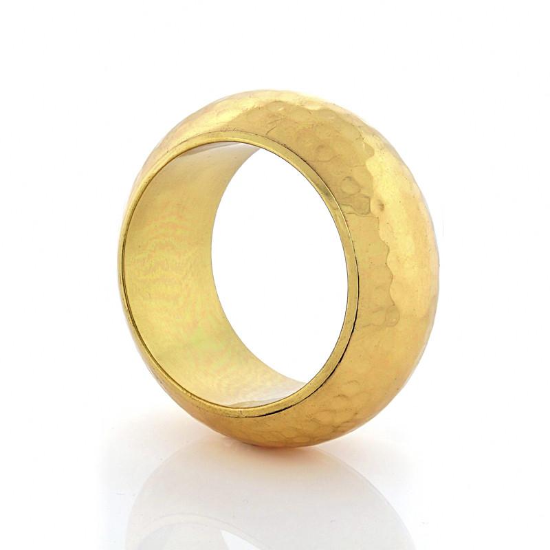 Gold-Hammered-Bracelet-Opaleen