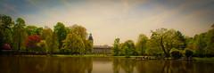 Karlsruhe Castle's Garden/Lake - Germany (Nilson Souza) Tags: trip castle germany garden deutschland nikon europa europe eu viagem karlsruhe alemanha ue 2010 d3000