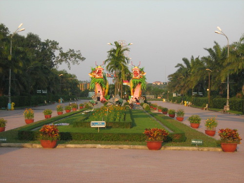 Dragon park in Vinh, Nghe An