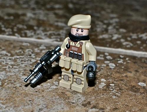 Desert Soldier custom minifig