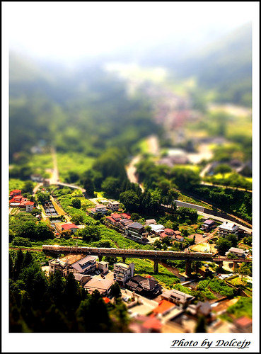 山寺地區鐵道模型:D