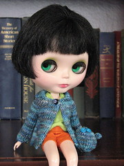 New sweater and monster
