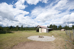 New Life in North Idaho: Fire Pit