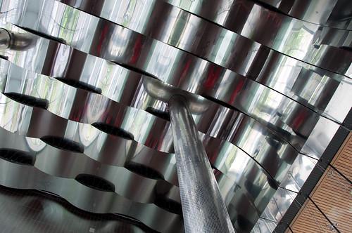 Wavy Metal Ceiling