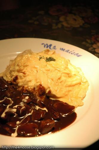 Ma Maison Restaurant - Beef Straganov