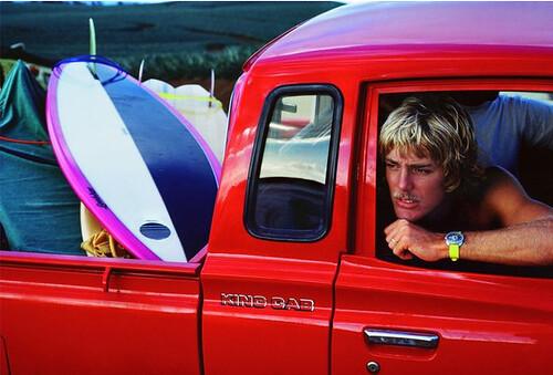 Jeff Divine, Steve Massfellar, Honolua Bay, Maui, 1978
