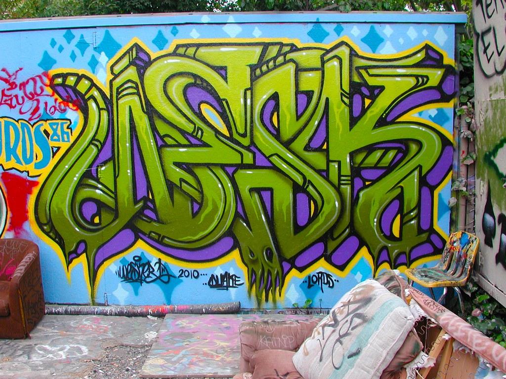 WESK, UM TFL, Petaluma, Northbay, Graffiti