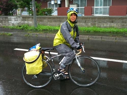 筑波大学サイクリング部のSさん